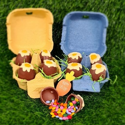 Chocolate Easter Egg Box